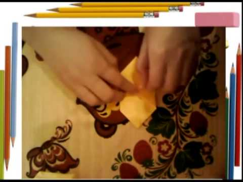 как сделать из бумаги покемона