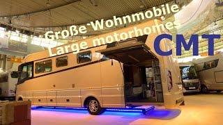 CMT Stuttgart 2015 - Große Wohnmobile - Large motorhomes (HALLE 3) Die Urlaubs-Messe / fair