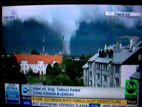 Trąba Powietrzna Gdańsk 2012 #02