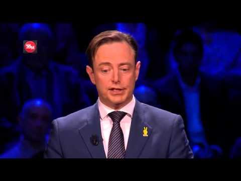 Federaal Debat VTM-RTL De Wever vs Magnette 13-05-2014