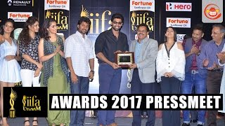 IIFA Utsavam Awards 2017 Pressmeet - Rana Daggubati,Nani || Nassar