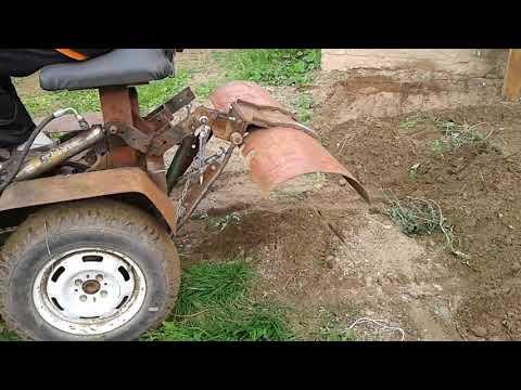 Лопату к трактору своими руками 856
