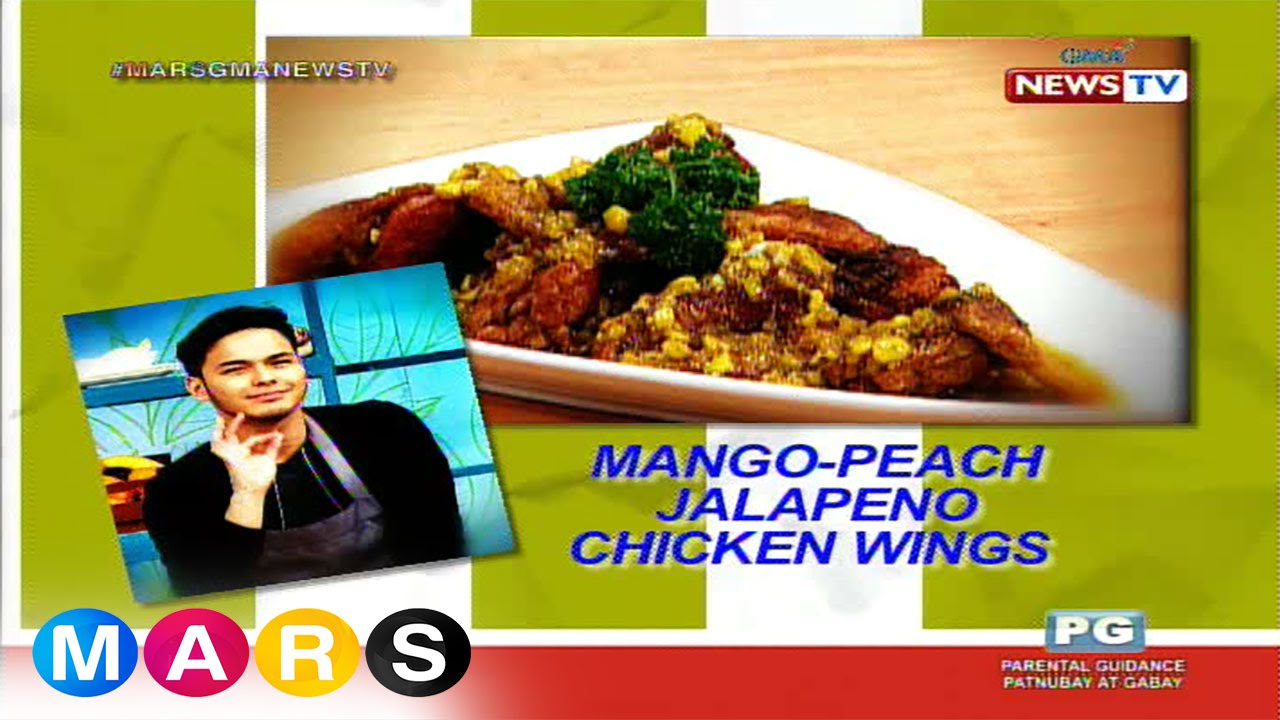 Mars Masarap: Mango-Peach Jalapeño Chicken Wings by Kristoffer Martin