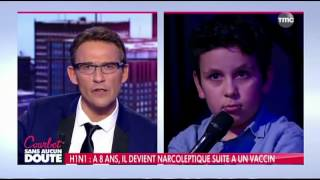 un enfant ridiculise Julien Courbet en direct
