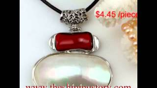 how to buy wholesale mother of pearl shell necklaces pendants jewelry cheap fashion jewellery