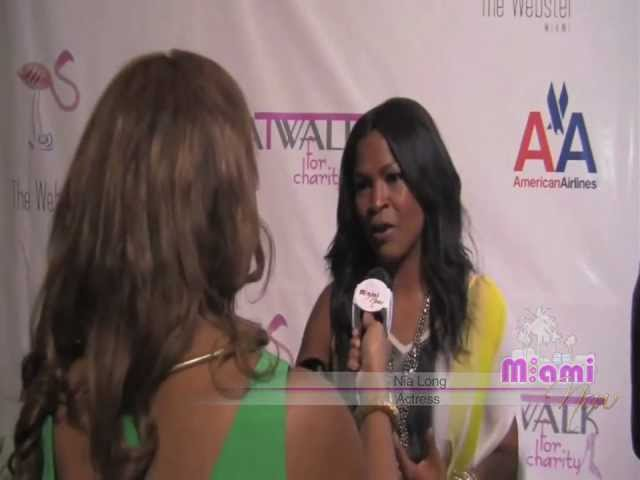 Actress Nia Long Talks &#039;Love Jones&#039; Sequel, Charity + Trinidad