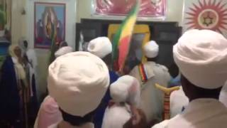 Chanting In Dekik Elias (zion Train Running With Jamaica And Ethiopia And Morocco)