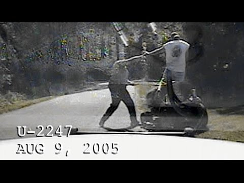 Steves Riding Lawn Mower DUI Arrest Video