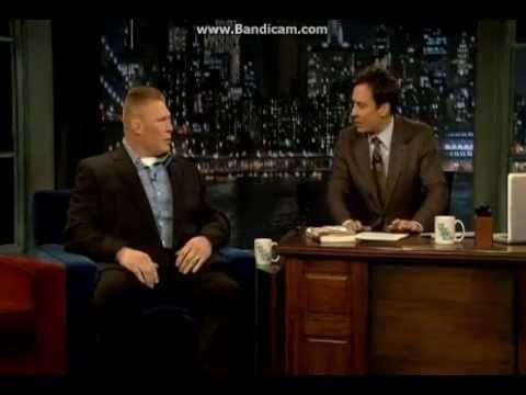 Brock Lesnar on Jimmy Fallon (Full)
