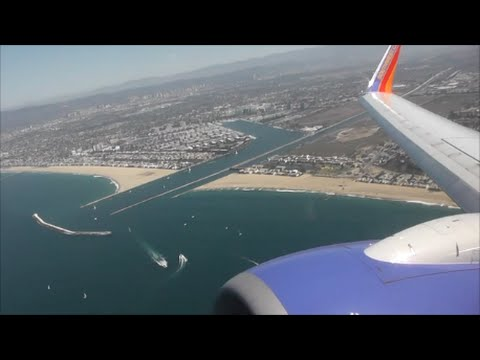 Southwest Boeing 737-7BD | Los Angeles to San Francisco *Full Flight*