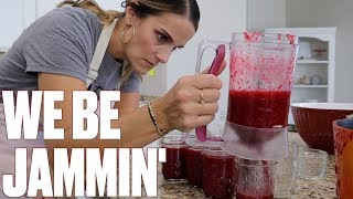 HOW TO MAKE RASPBERRY JAM AT HOME | CANNING JAM IN YOUR OWN KITCHEN | HOMEMADE JAM RECIPE