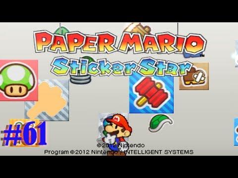 Paper mario sticker star damp oasis help