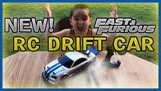 New Fast and Furious RC Drift Car Brian's Nissan Skyline GTR R34