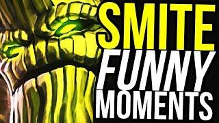 SYLVANUS CONFIRMED BEST GOD! - SMITE FUNNY MOMENTS