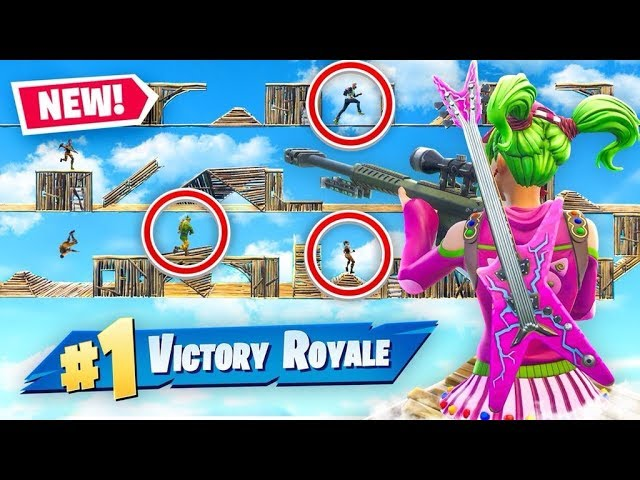 Extreme DEATH RUN In Fortnite Battle Royale!