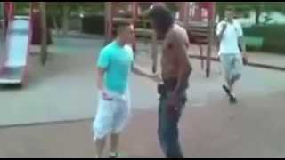 ONE PUNCH KNOCK OUT!!!! DAVID VS GOLIATH MUST SEE