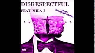 Trey Songz - Disrespectful Ft. Mila J (SLOWED AND CHOPPED)