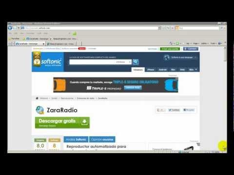 Zara Radio + Oddcast V3. Emitir radio online
