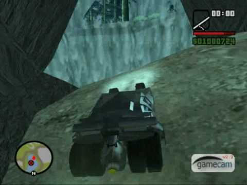 Batman: The Desert Death (GTA:SA mod The Dark Knight Begins v3.0)