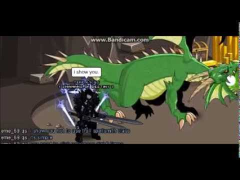 -AQW- Troll spellsmith class ( combo and how to use)