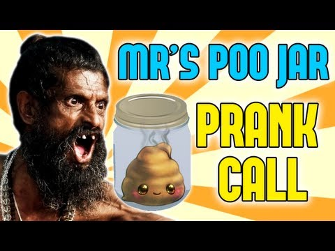Mrs. POO JAR - Prank (& Mr Piss Cup)