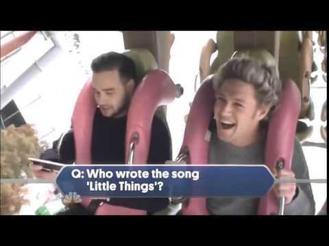 Liam quizzing the boys on a Roller Coaster - One Direction TV Special ...