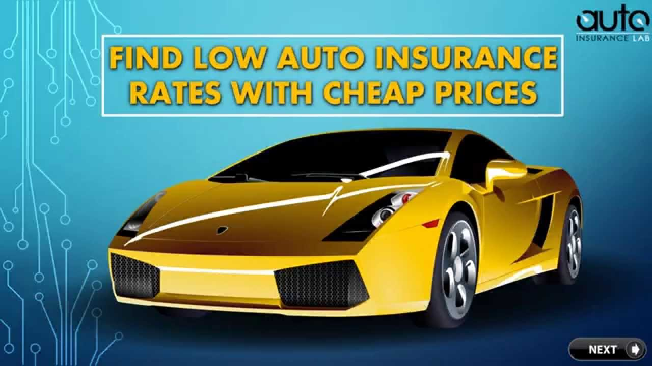Lowest car insurance rates in usa 13