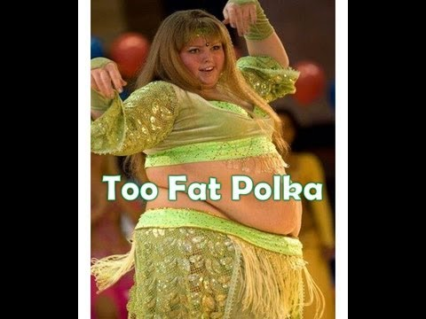 Too Fat Polka (Original) by Frankie Yankovic with Funny Fat People