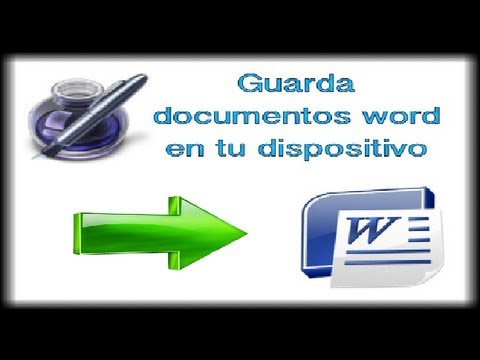 PAGES-Guarda documentos Word a tu dispositivo iPod touch/iPhone/iPad