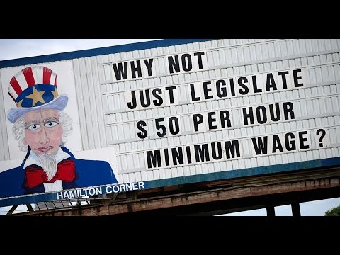 John Stossel The Minimum Wage And Consequences
