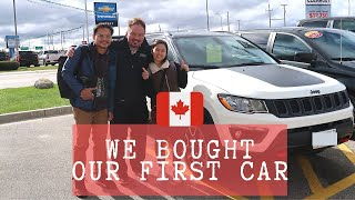 Buying A Car in Winnipeg | Buhay sa Canada | Kris and Trix