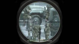 """Call of Duty 4: Modern Warfare 1"", full walkthrough on Veteran,Act 2: Mission 3 - One Shot,One Kill"