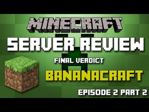 MSR's [S1:Ep2:Pt2]- Bananacraft - Worst Server Ever