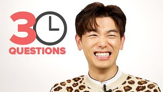 30 Questions In 3 Minutes With Eric Nam