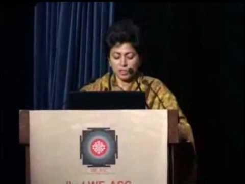Kumari Selja- Union Minister for Culture inaugurating IInd WE ASC Education Congress 2012
