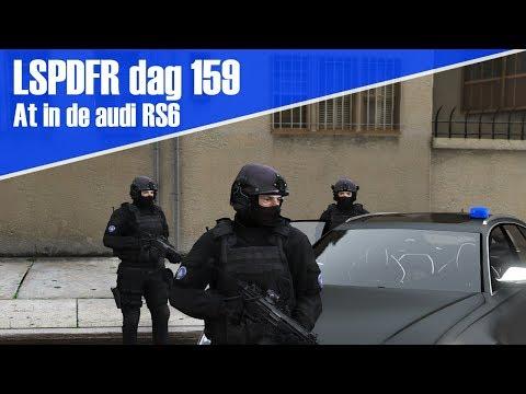 GTA 5 lspdfr dag 159 - Arrestatieteam in de audi RS6 + nieuwe uniformen!