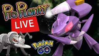 Genesect Mythical Quest COMPLETE Playthrough (Live) Pokemon Go