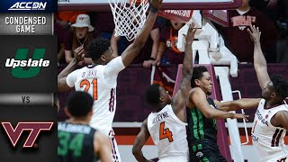 USC Upstate vs. Virginia Tech Condensed Game | 2019-20 ACC Men's Basketball