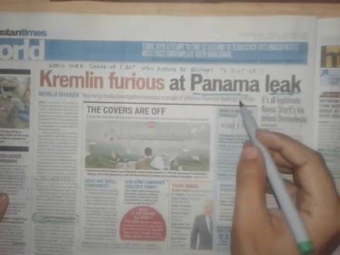 Daily Newspaper Analysis   Hindustan Times   5th April, 2016   Punjabi