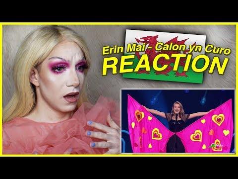 Wales - Erin Mai - Calon yn Curo (Heart Beating) - LIVE | Junior Eurovision 2019 REACTION