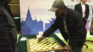 Champion of Africa beats World Champion in Huai