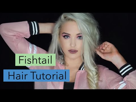 download lagu How To Fishtail Braid Tutorial  Easy Fishtail Braids FoxyLocks Extensions gratis