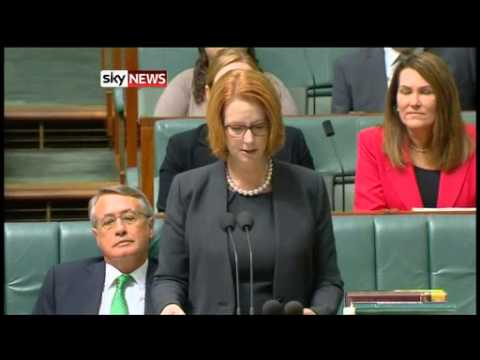 Julia Gillard Cries As She Announces Disability Scheme