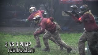 Pump Paintball Tournament at SuperGame 47: 3 VS 3