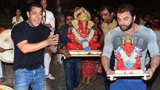All Salman Khan Ganpati Visarjan