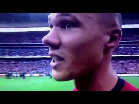 Gibbs on arsenal fa cup win