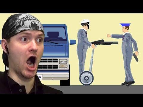 ОГРАБЛЕНИЕ ПО-ХЭППИВИЛСОВСКИ ► Happy Wheels |150| Хэппи Вилс