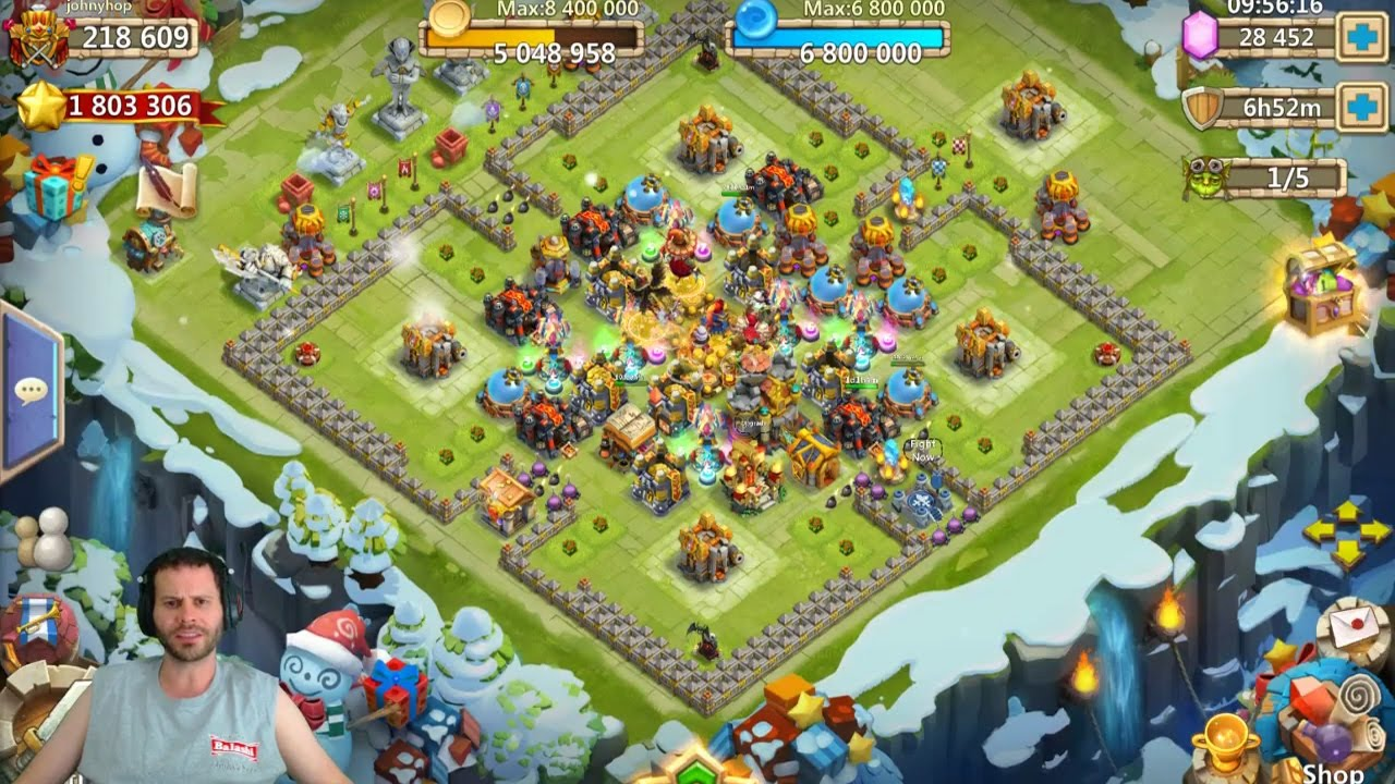 Image currently unavailable. Go to www.generator.cluehack.com and choose Castle Clash image, you will be redirect to Castle Clash Generator site.