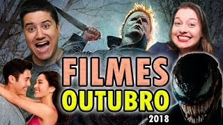 FILMES de OUTUBRO - 2018