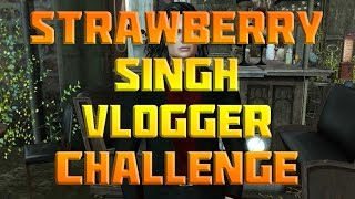 Strawberry Singh Second Life Vlogger Challenge